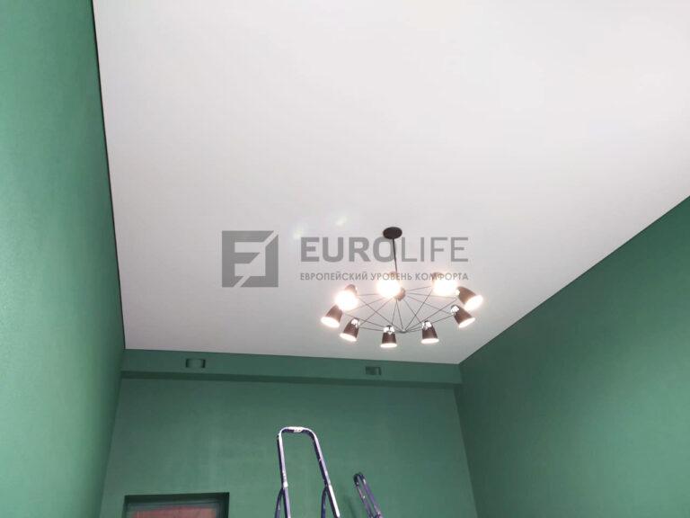 тканевый теневой потолок