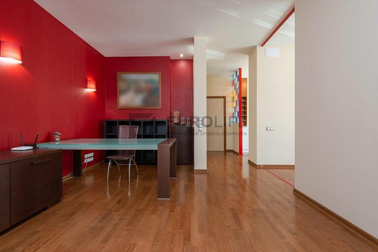 белый матовый потолок в квартире